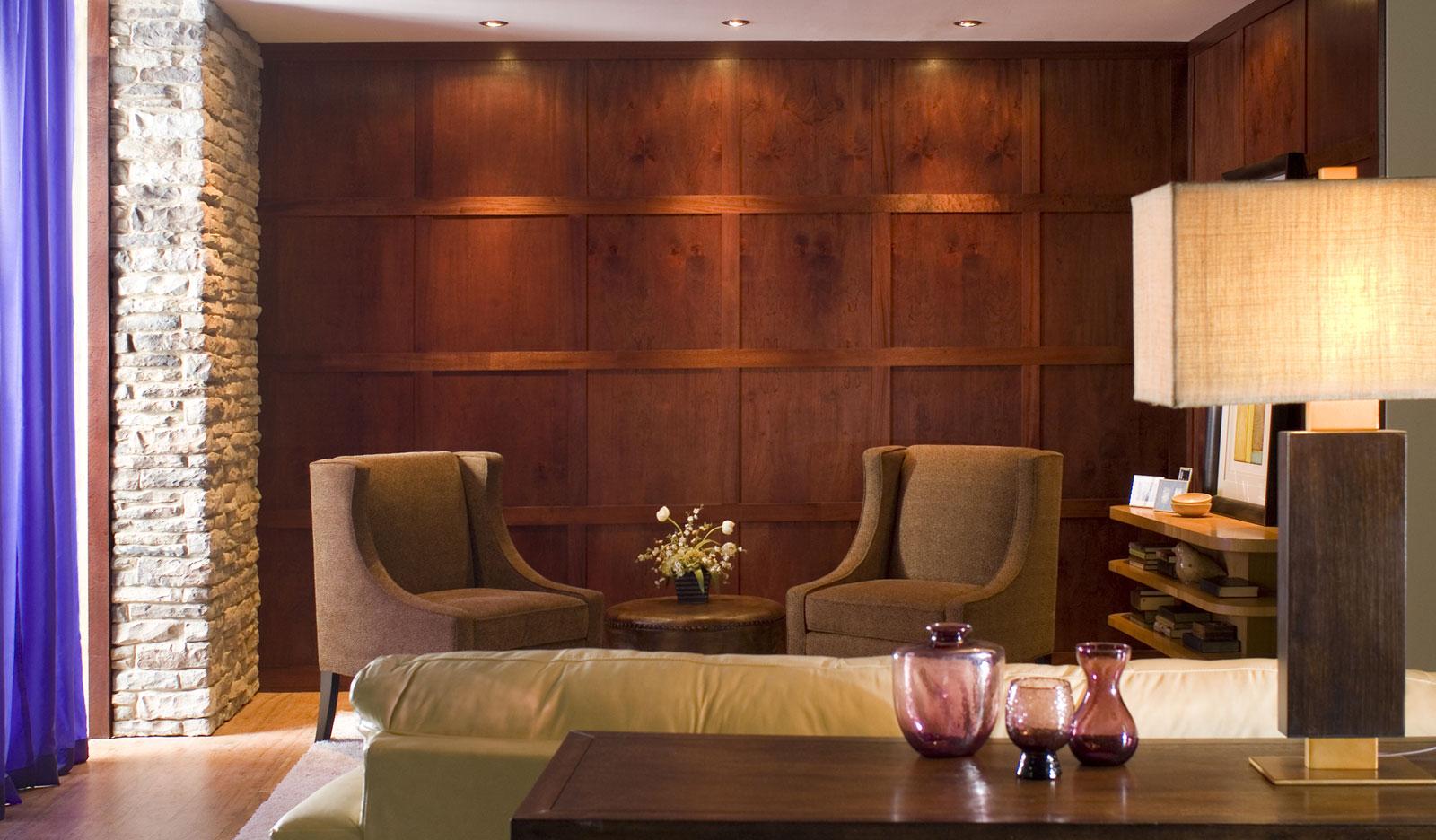 Modern Wood Paneling | Custom