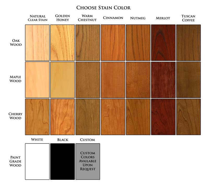 New England Classic Stain Colors